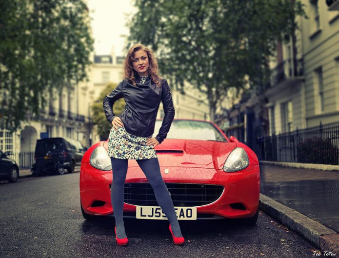 Ferrari pose Model