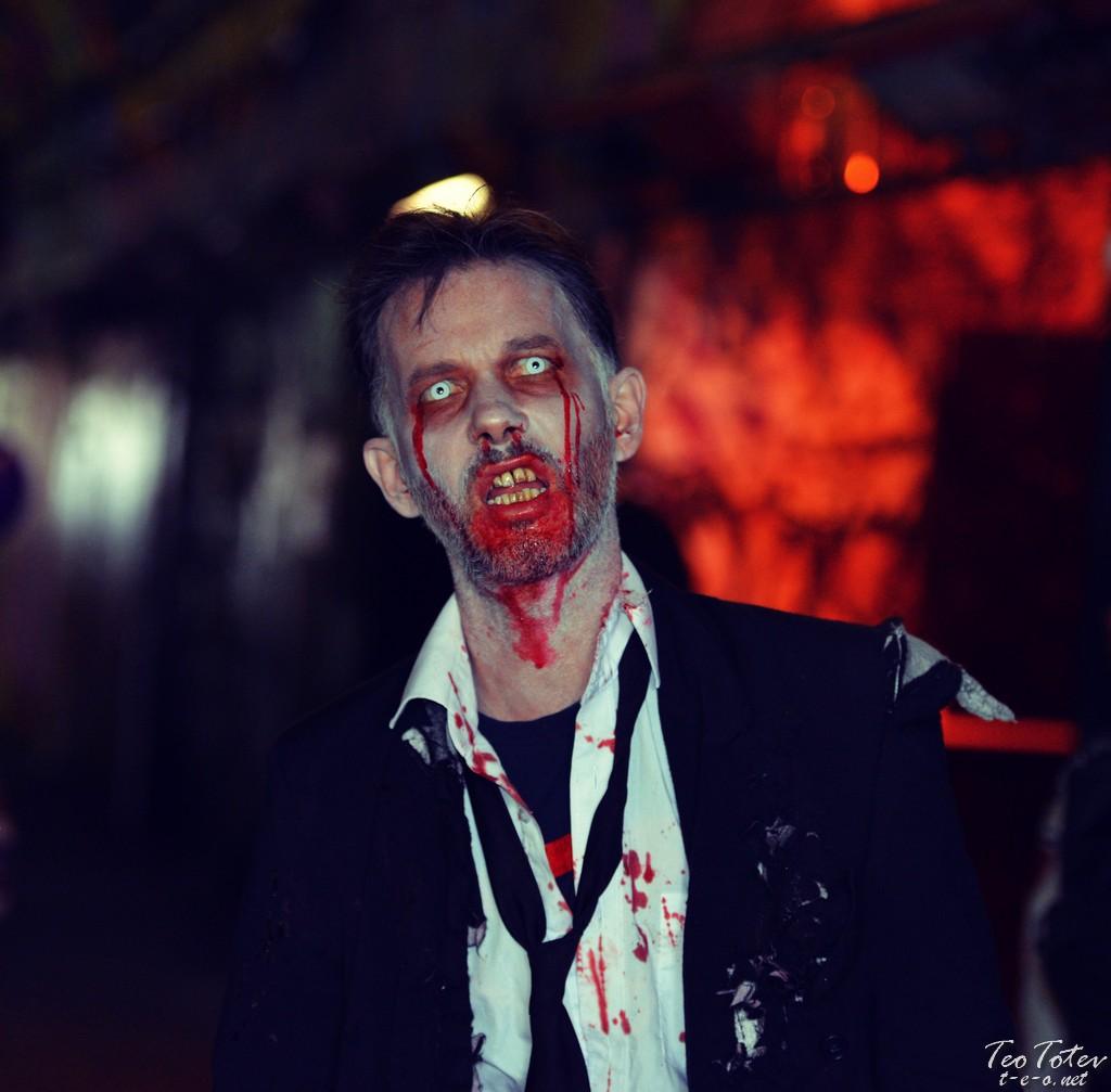 Scary Zombie London