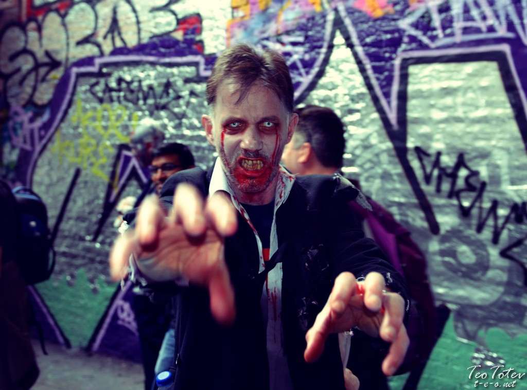 Wold Zombie Day London