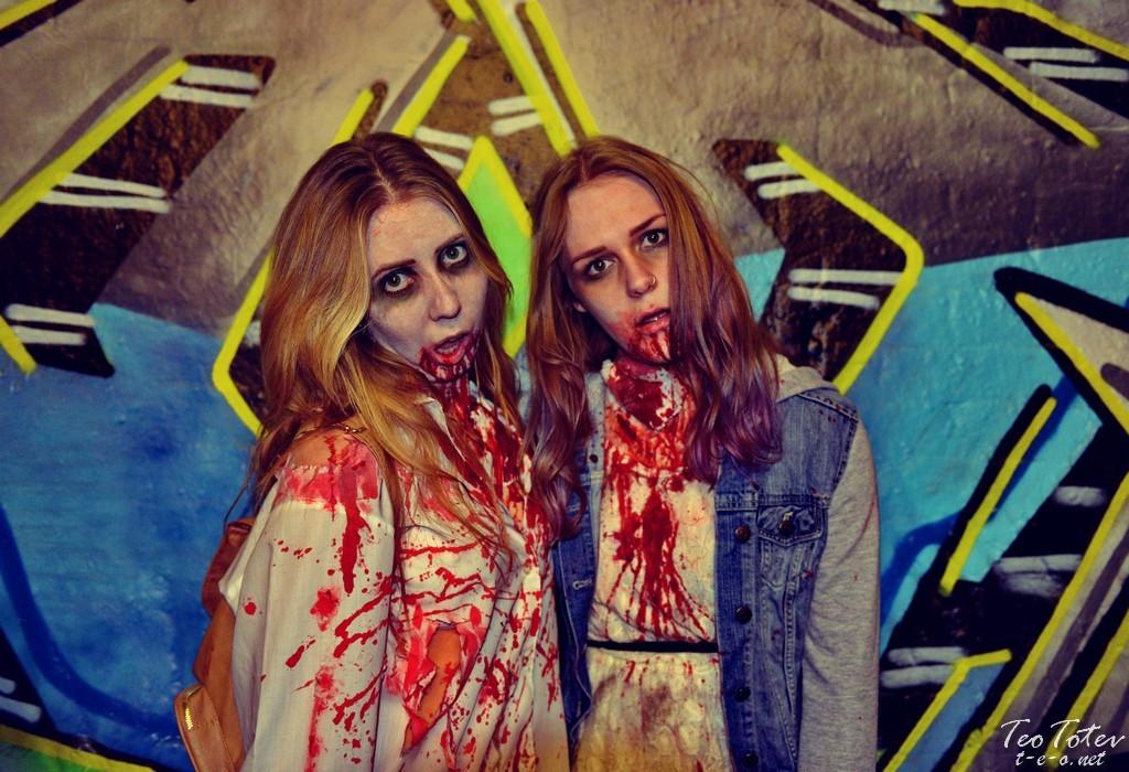 Zombie twins