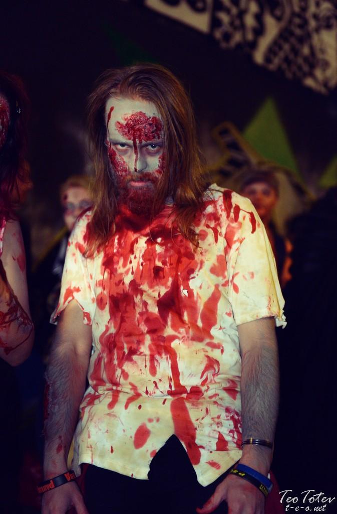 Prehistoric zombie