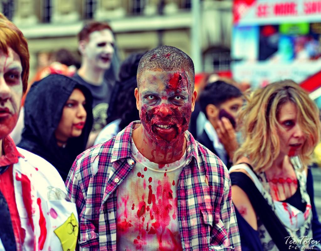 Black Child Zombie