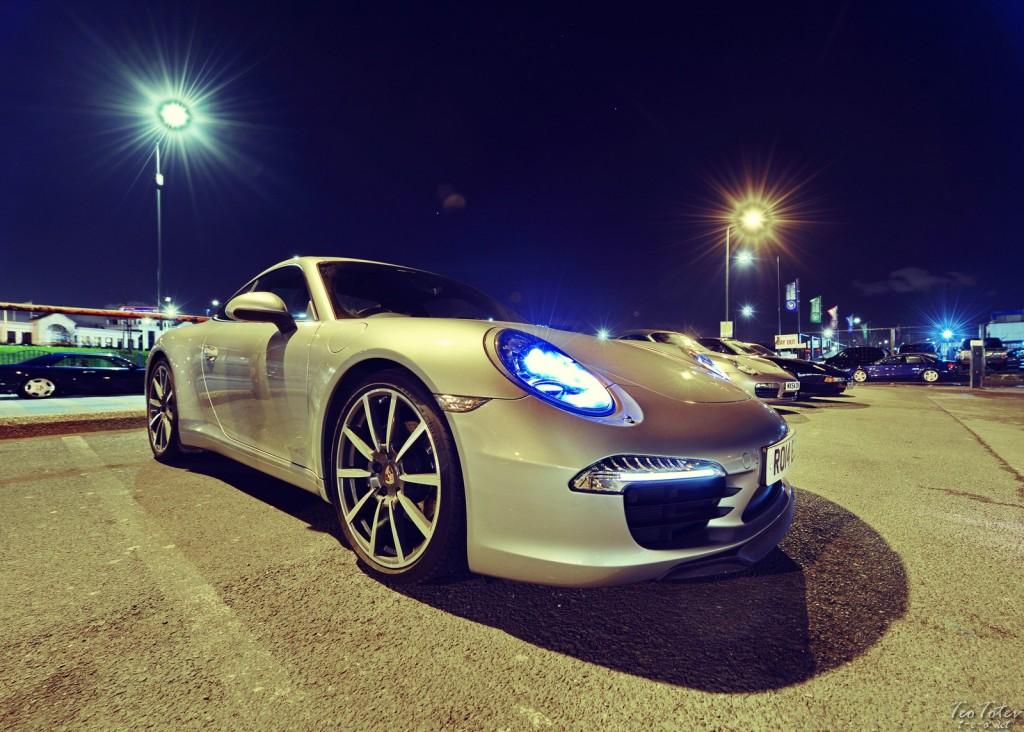 Night Porsche
