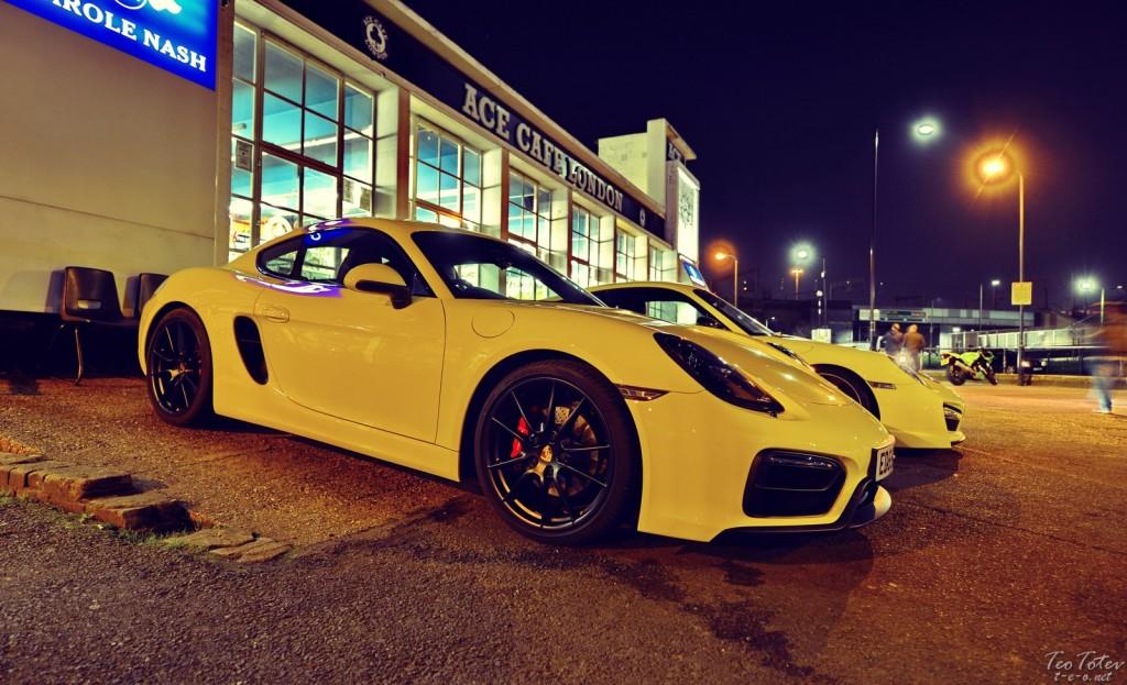 Yellow Porsche
