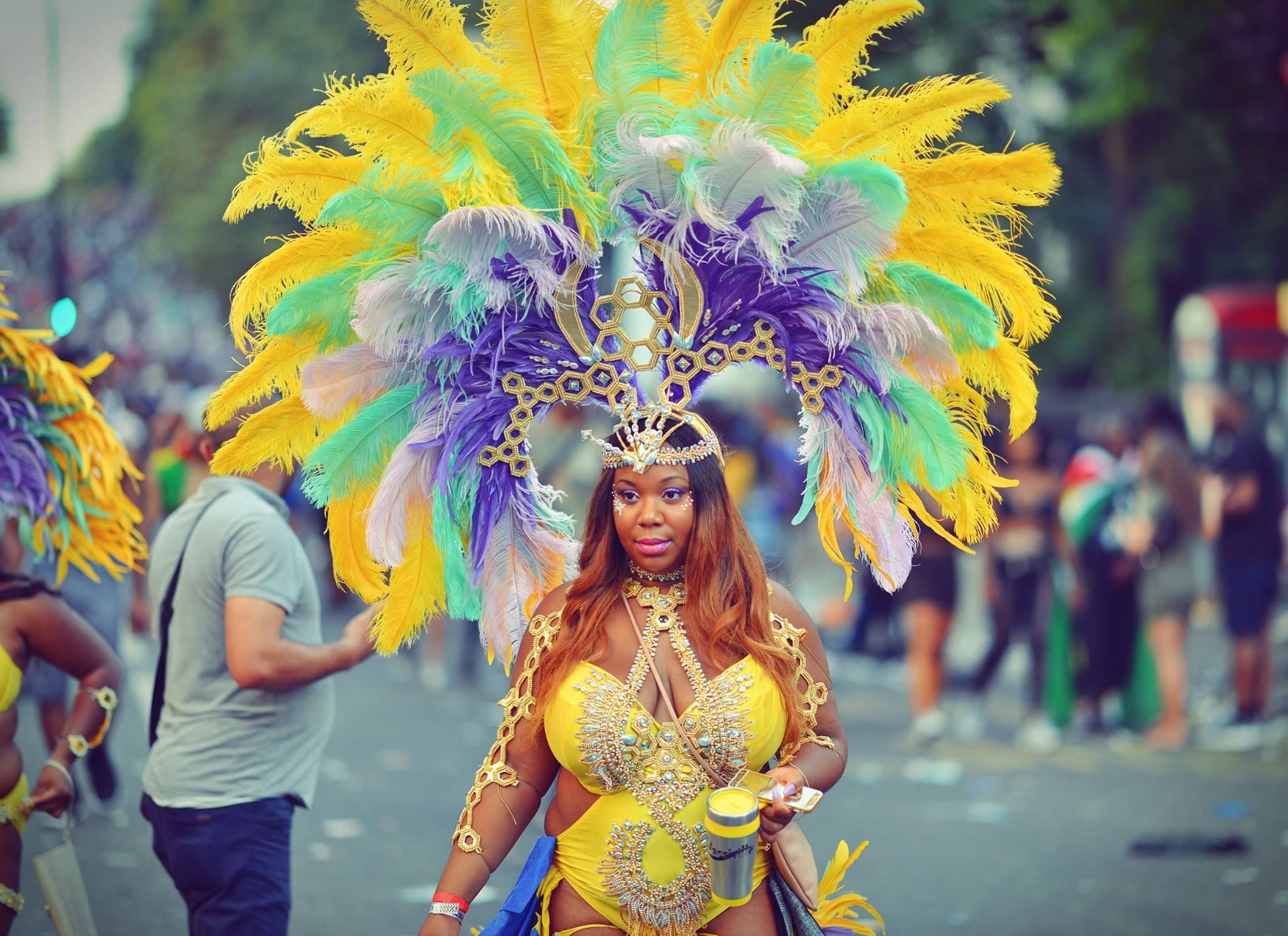 Amazing colours of Notting Hil Carnival