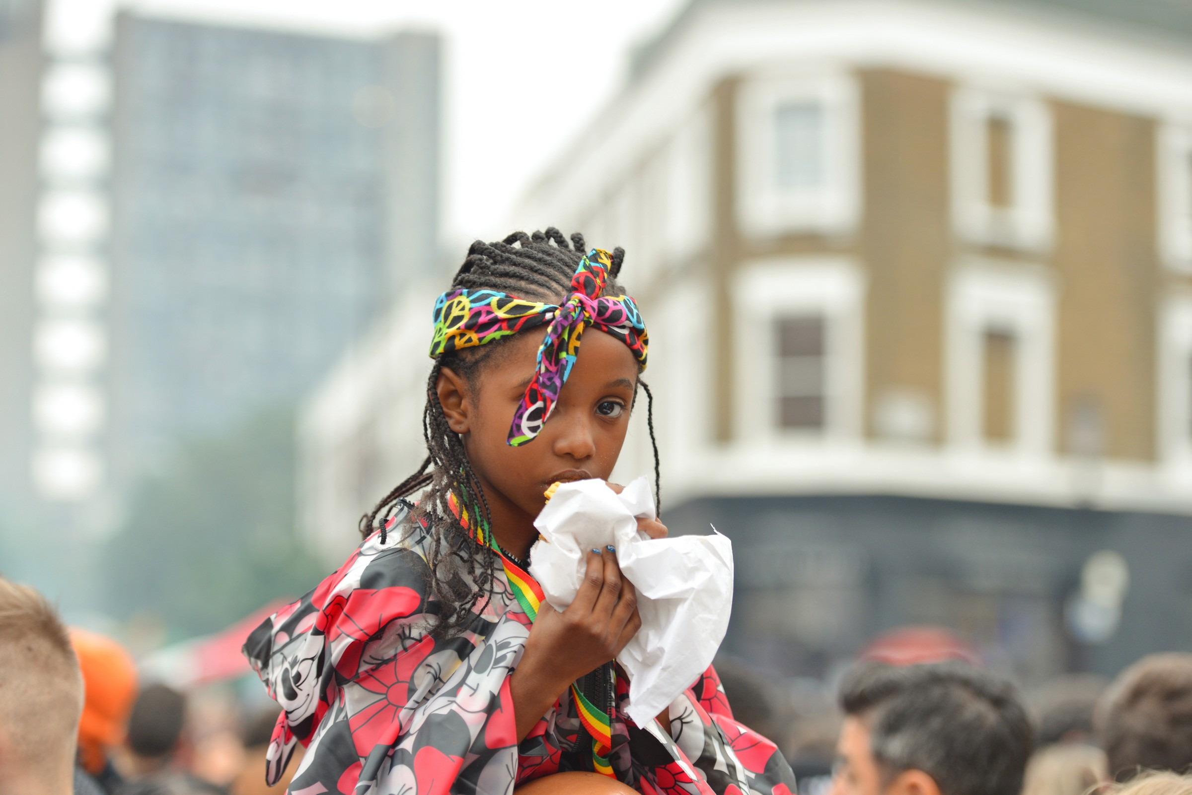 Black girl Notting Hill Carnival