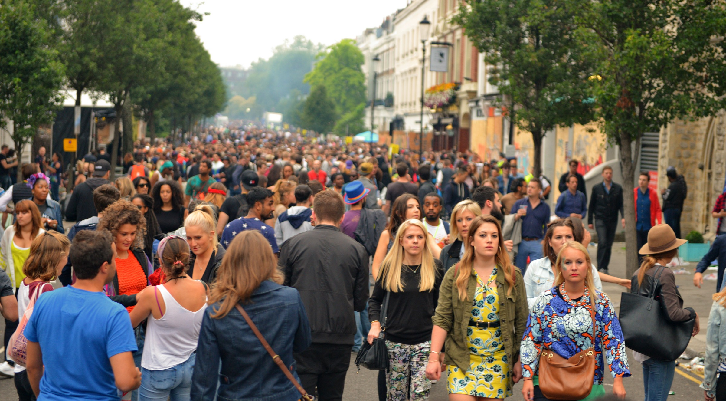 Crowd Notting Hill Carnival