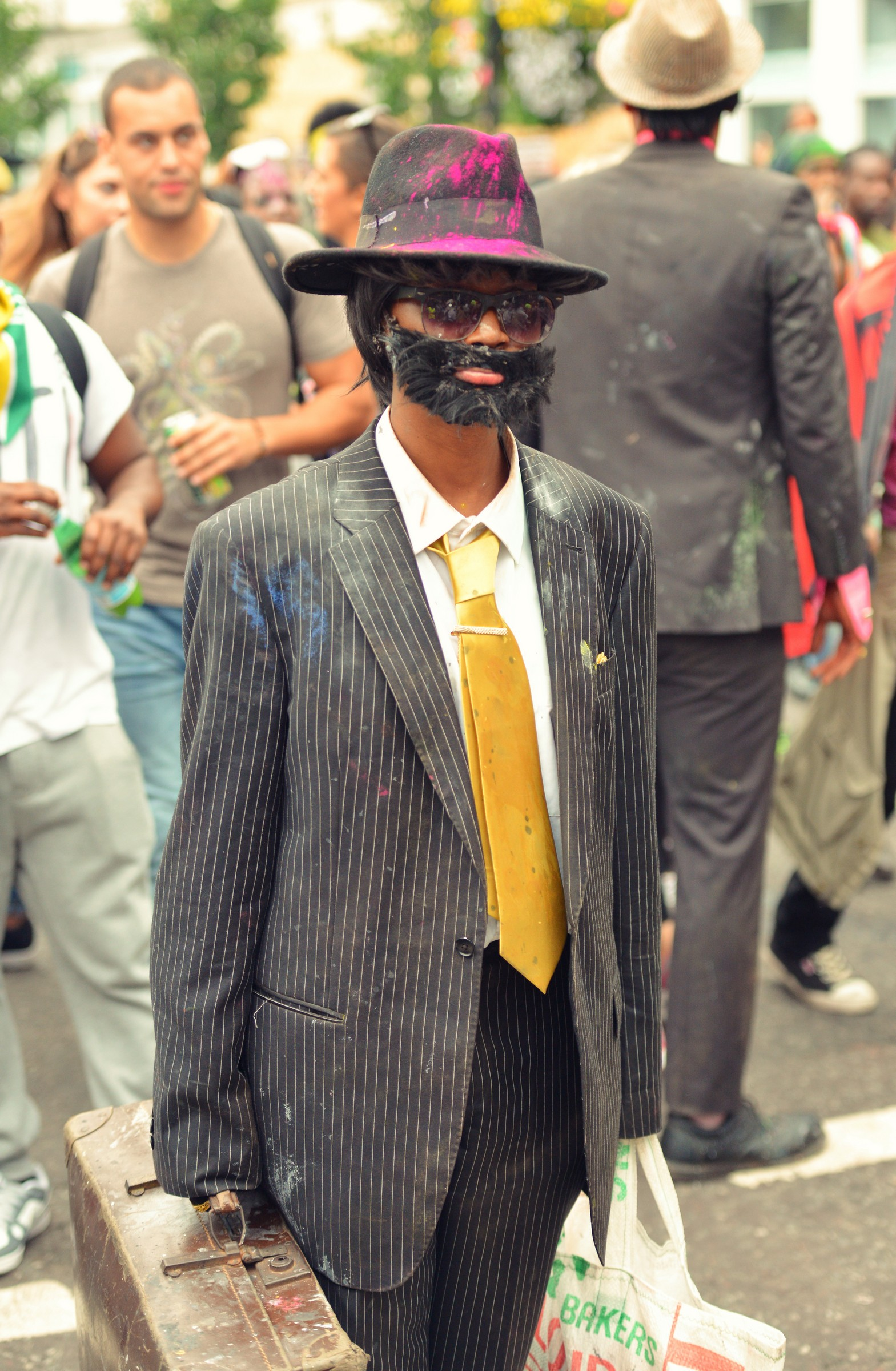 Fake moustache Notting Hill Carnival
