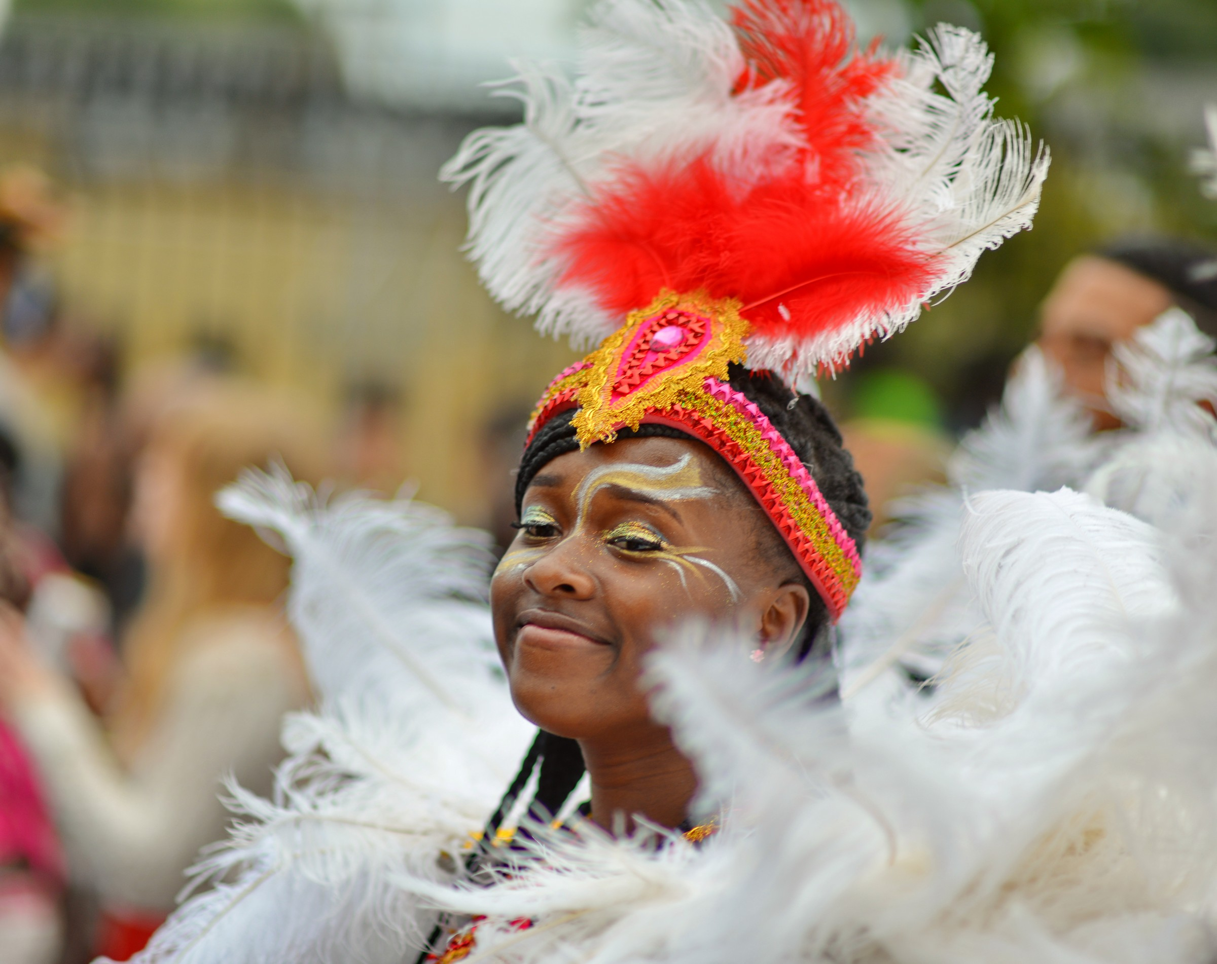 Feathers Notting Hill Carnival