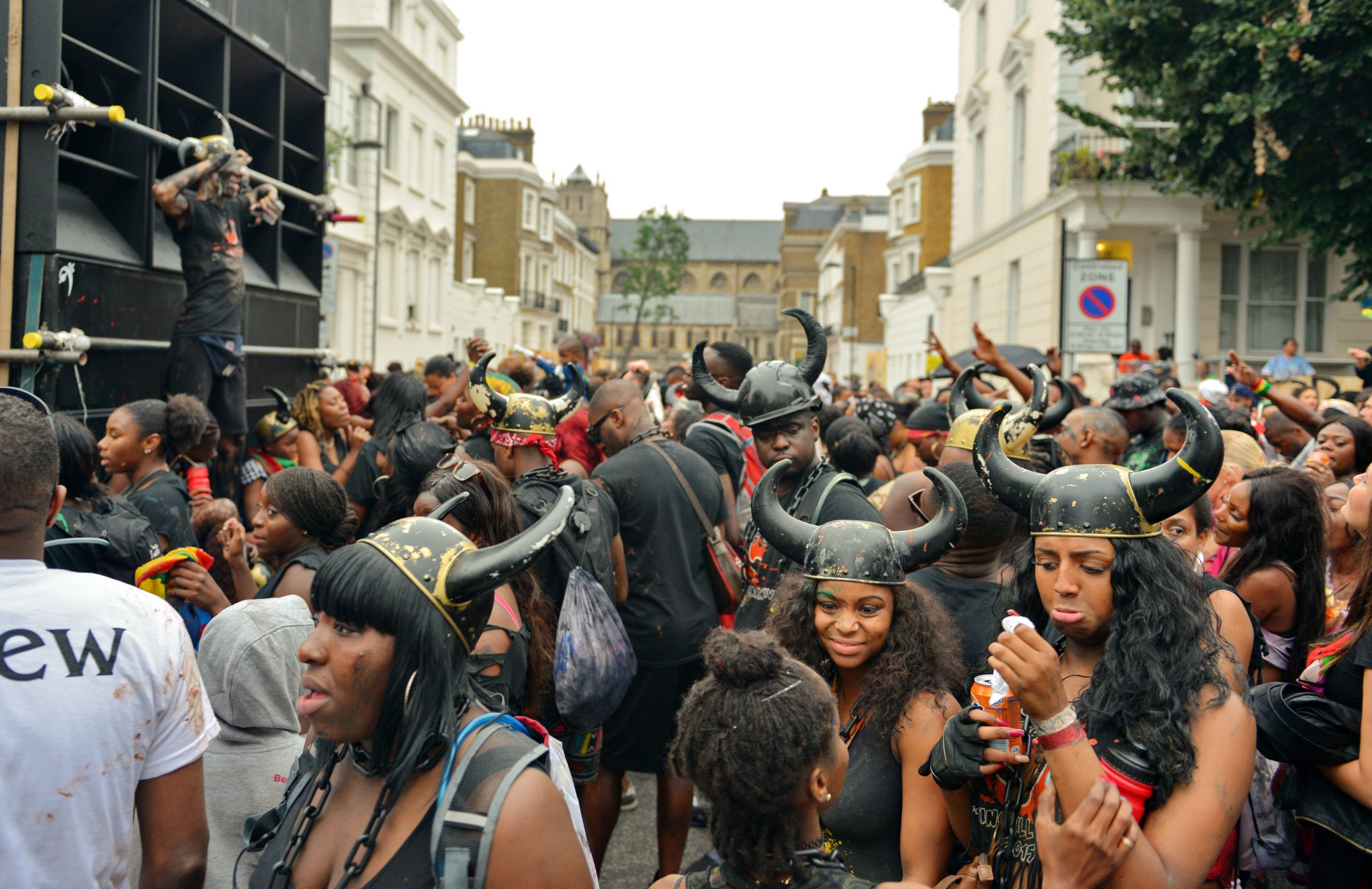 Horny ladies at Notting Hill Carnival