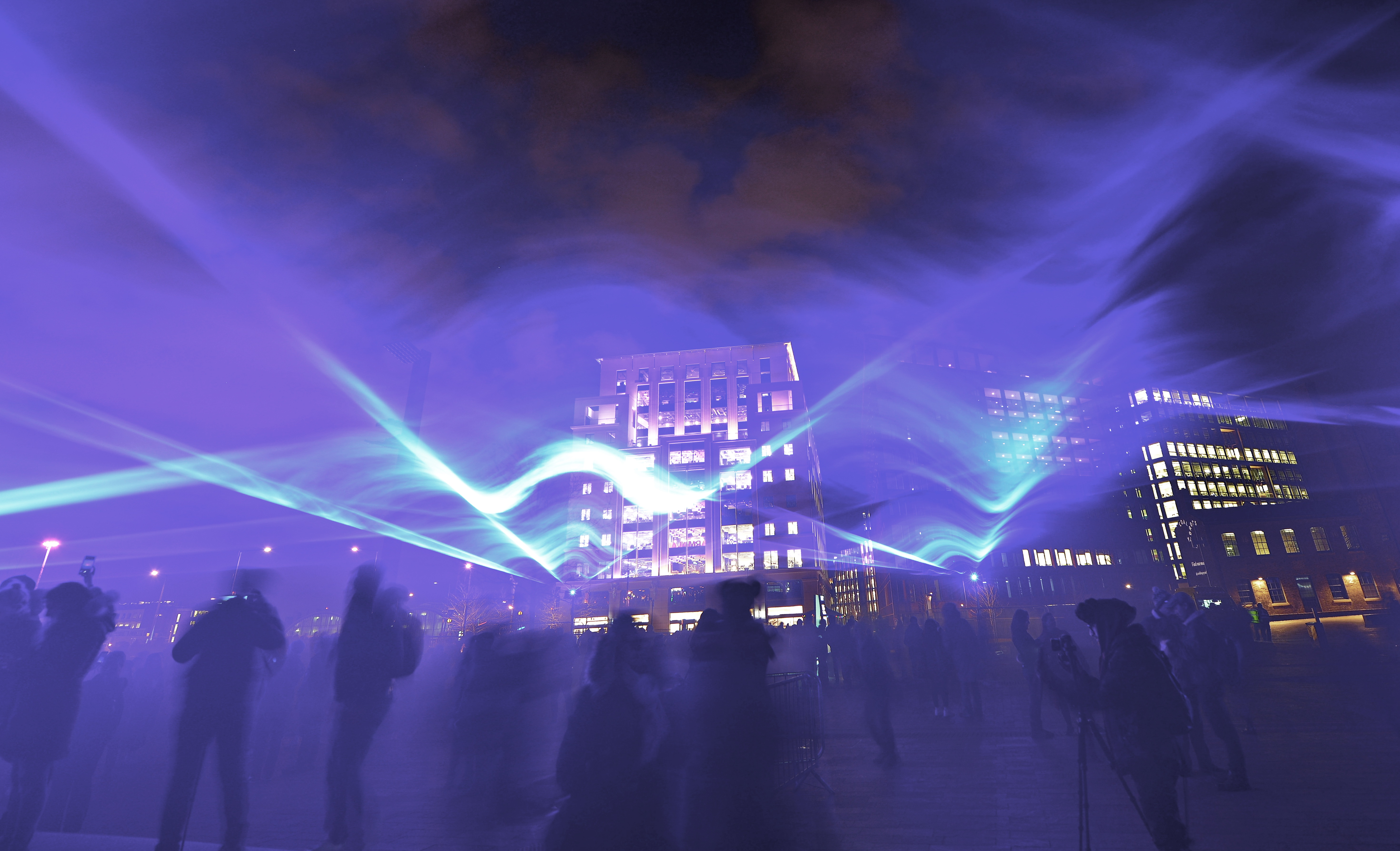 Lumiere Lighting Show London
