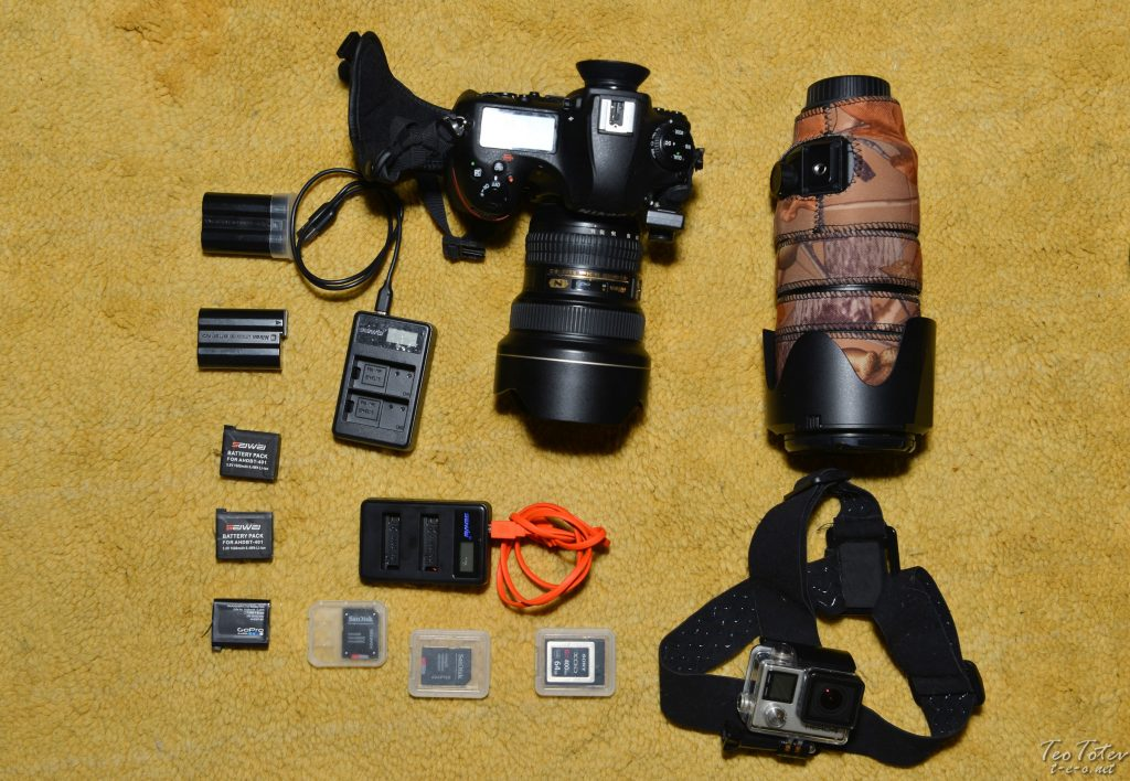 Nikon D850 Travel Kit with GPS, two lenses and GoPro