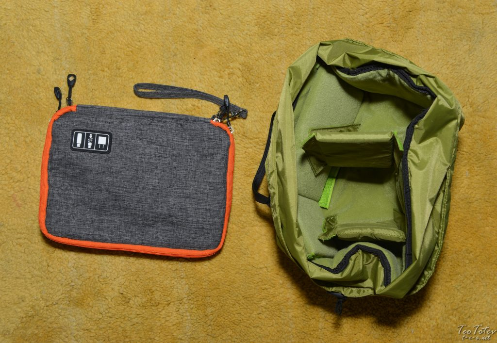 Travel photographer Camera Padding and Accessories Bag