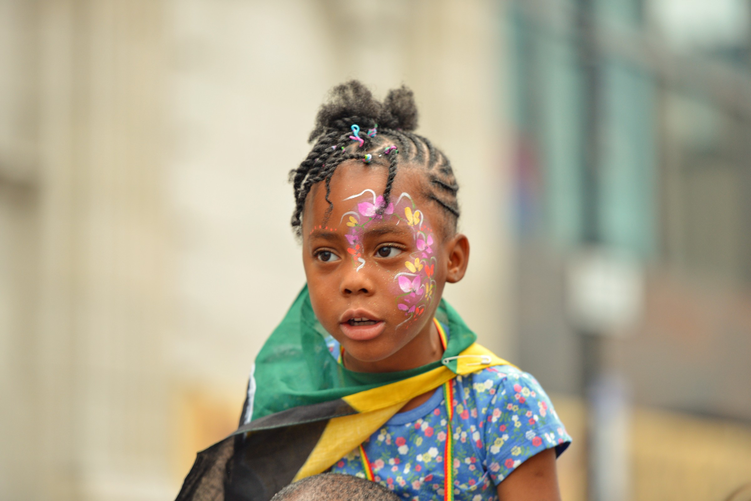 Young Girl at Notting Hill Carnival