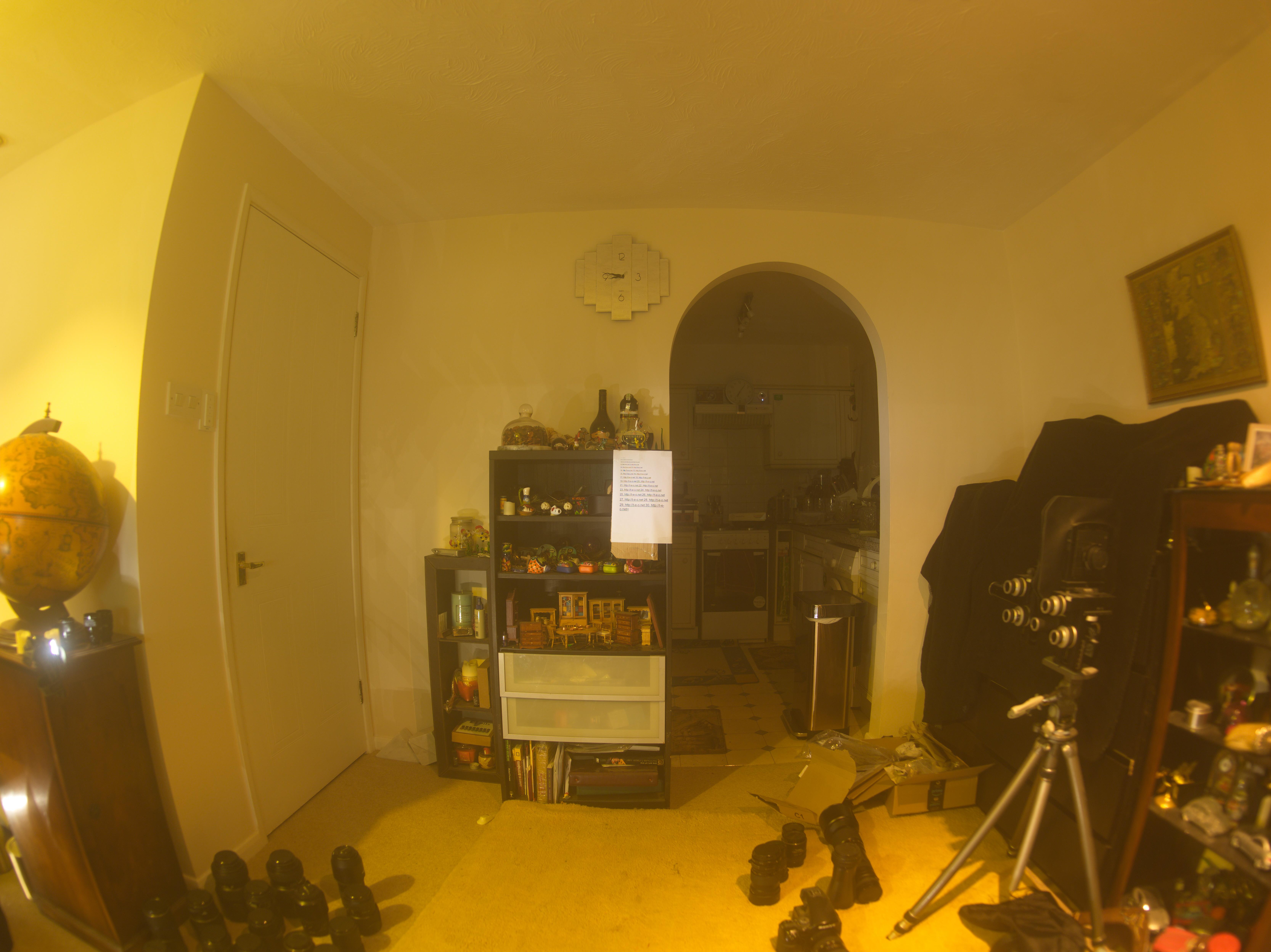 Mamiya 24mm f4 fisheye MF Lens