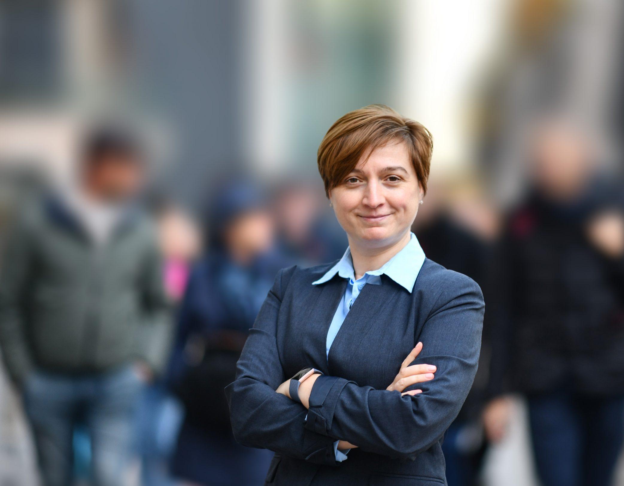 Happy Business Portrait