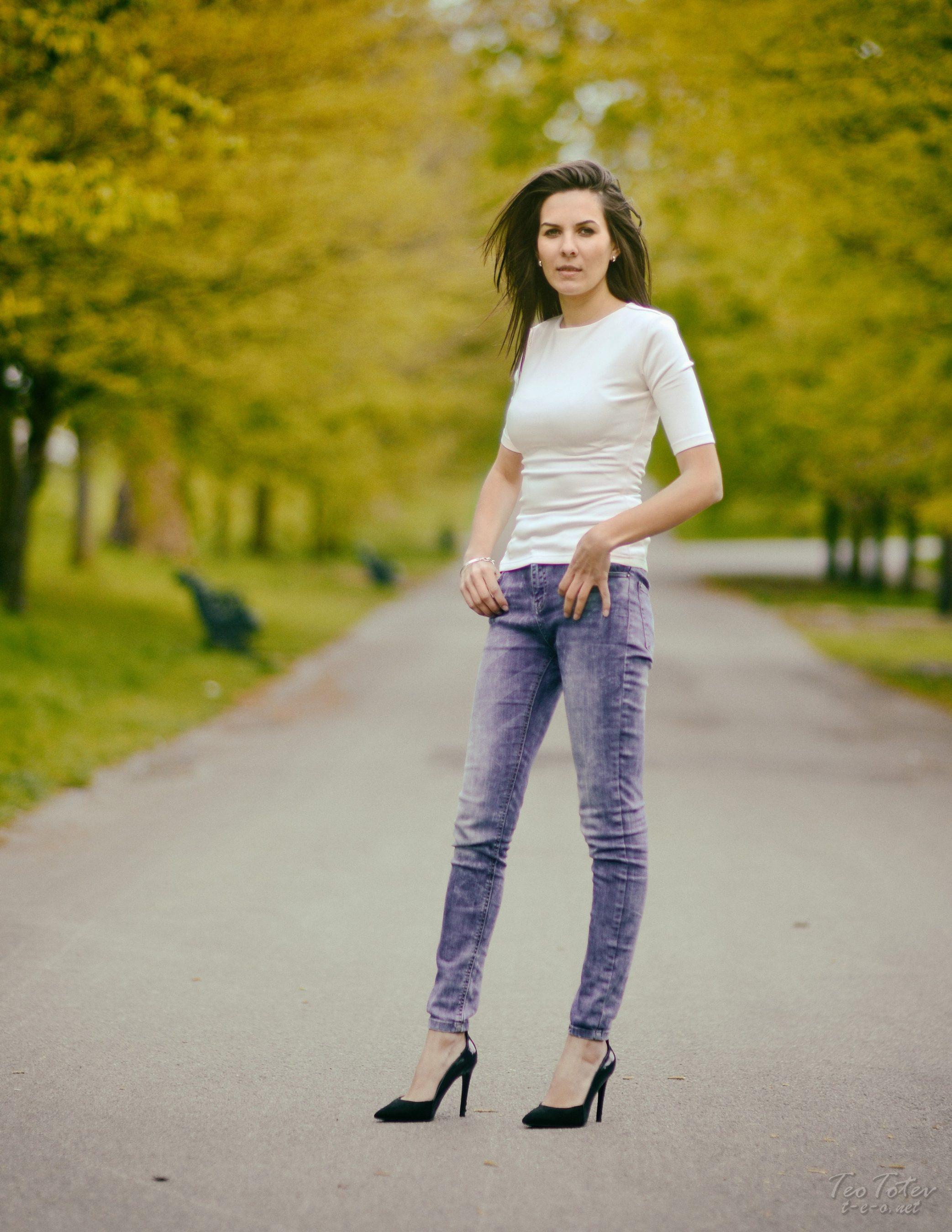 Long Legs girl in stilettos