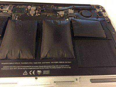 Mac Book Pro Battery Bubbled