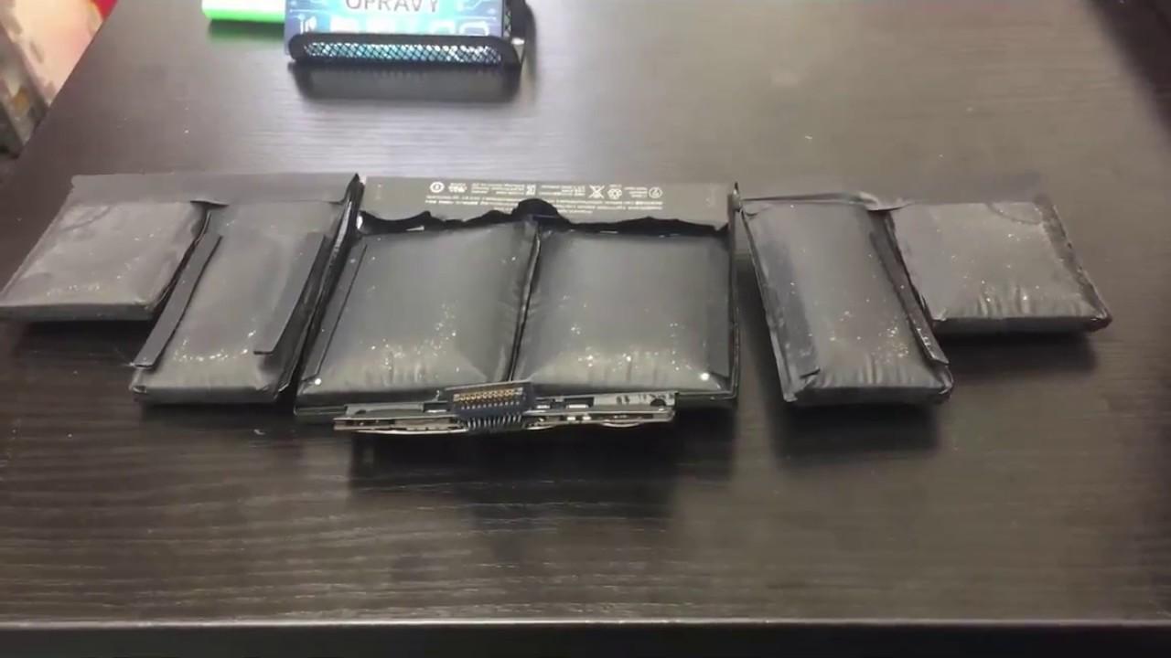 Mac Book Pro Battery Swelling