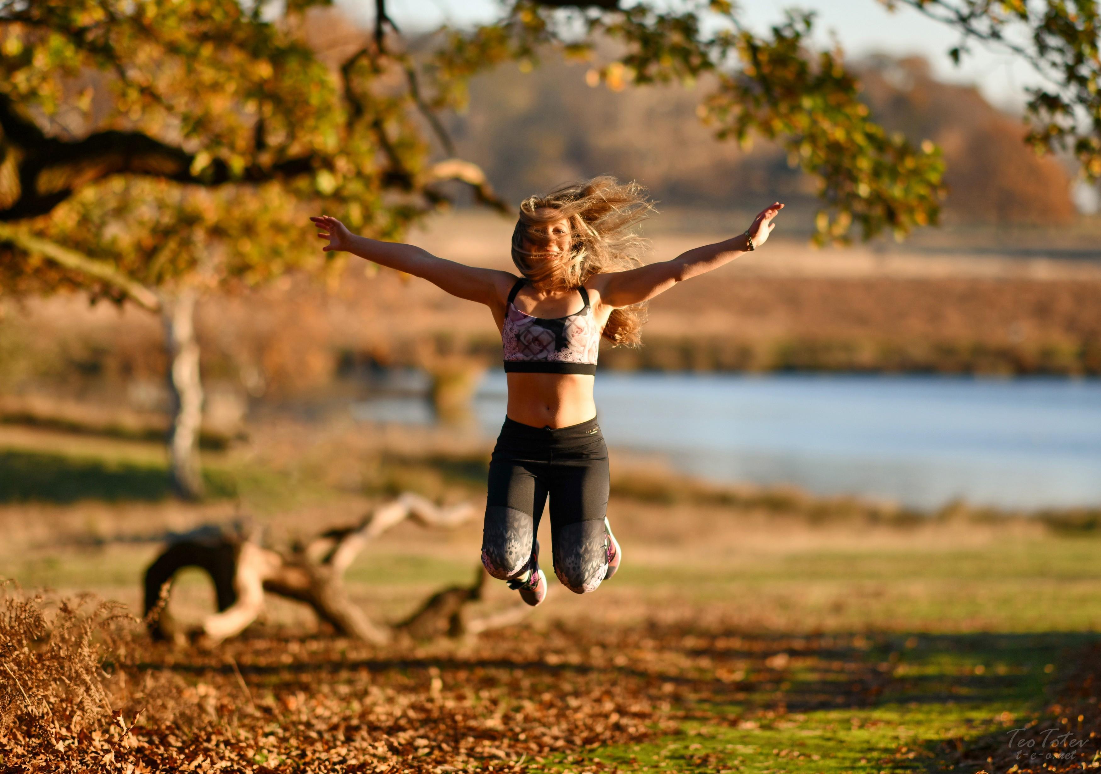 Model Jump outdoor