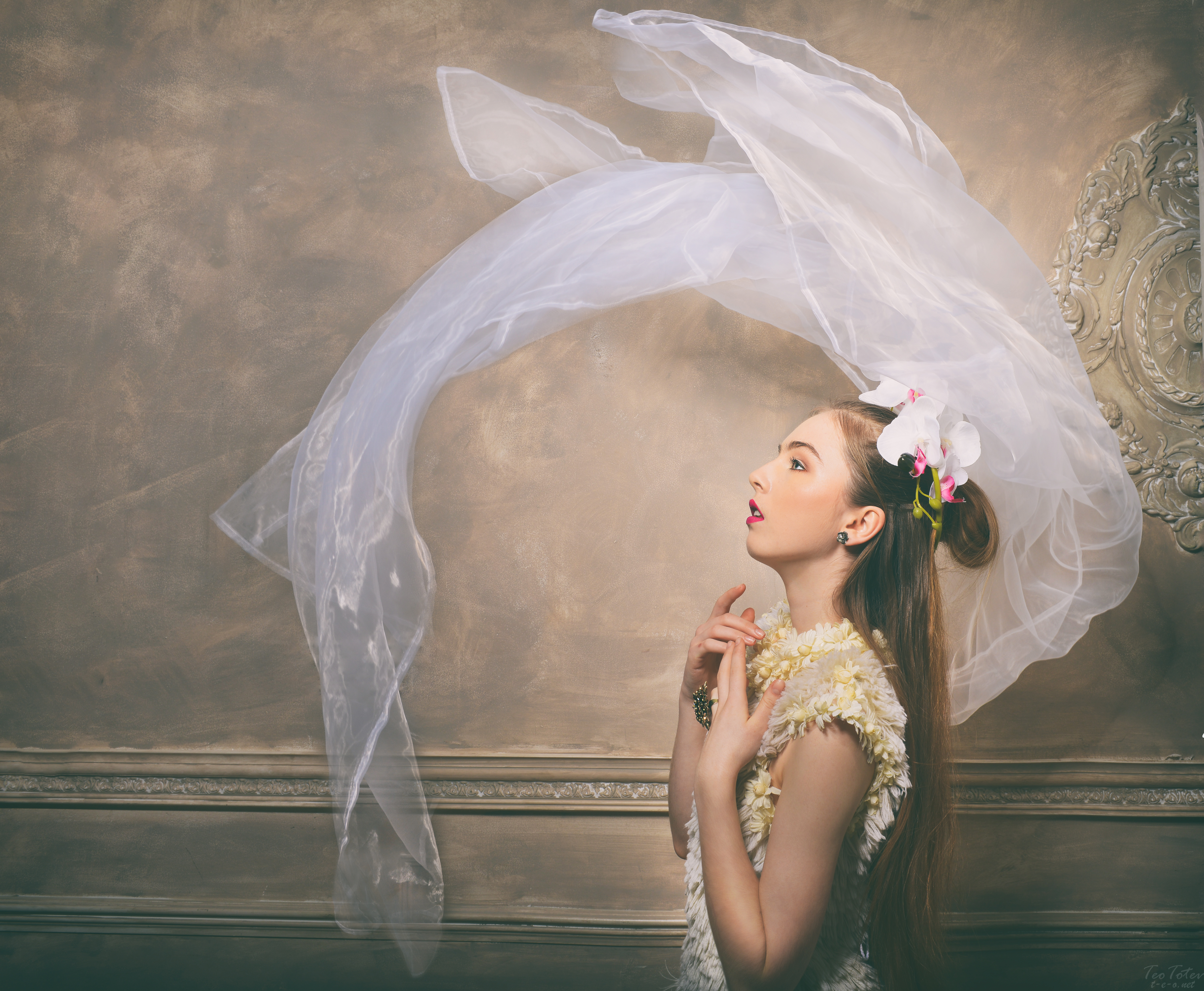 Studio Bridal Portrait