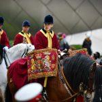 Drummer on horseback