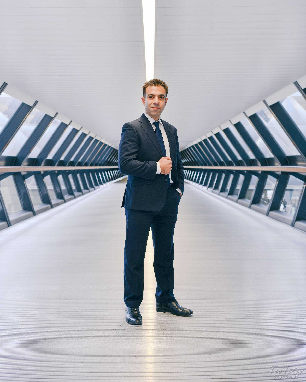 Corporate Portraits Canary Wharf