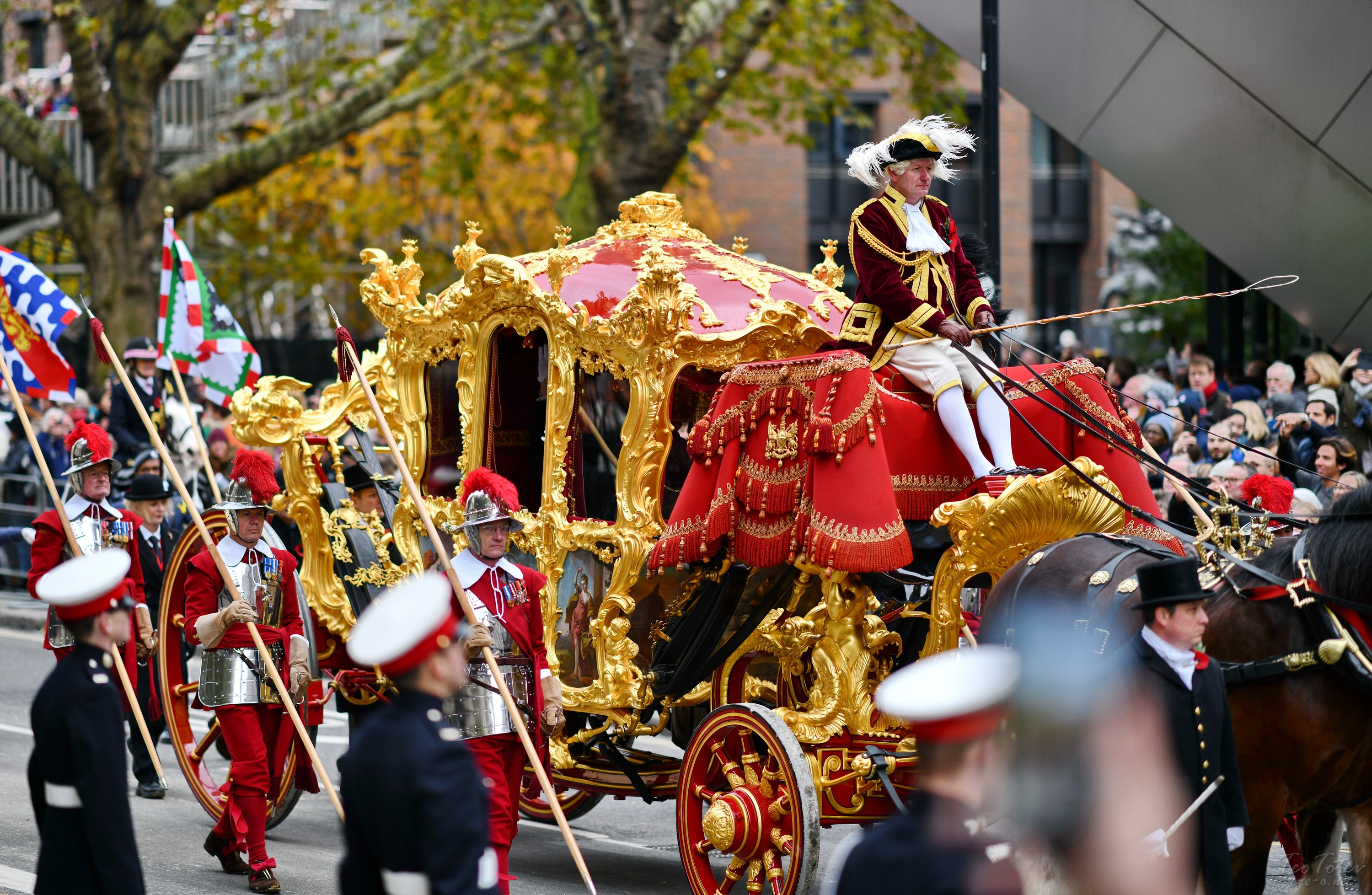 Lord Mayor's Show in the City of London