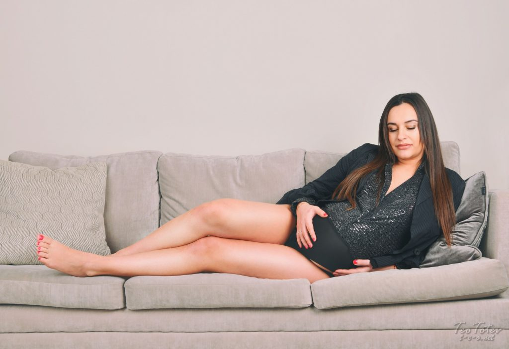 Pregnant Women Lying