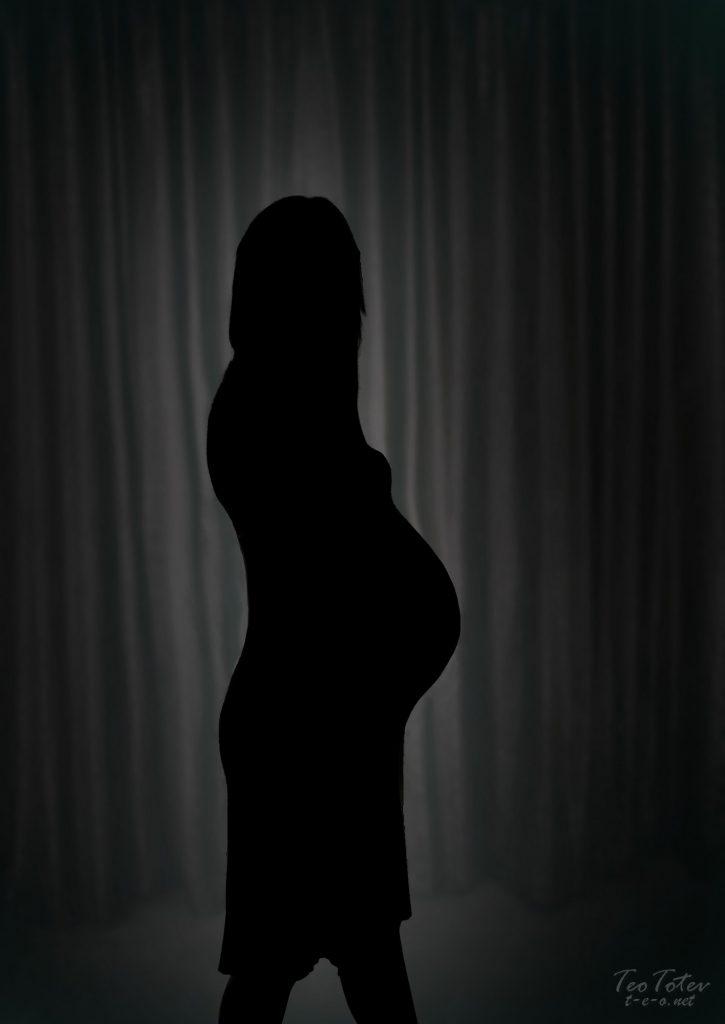 Silhouette pregnancy photos