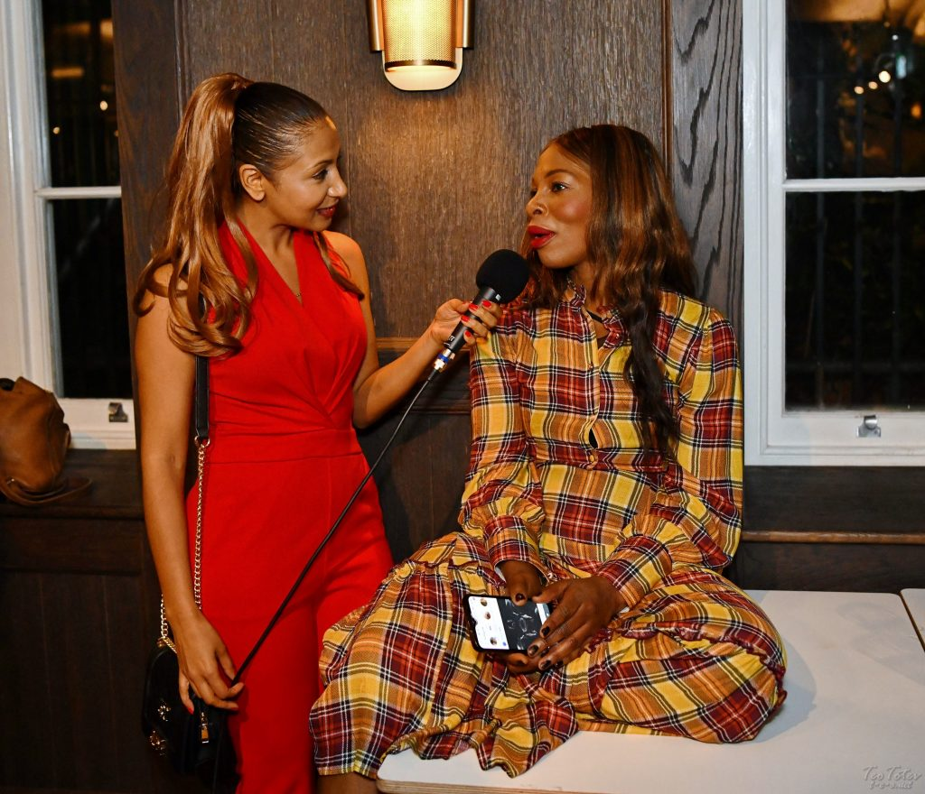 Star Interview amazing dress