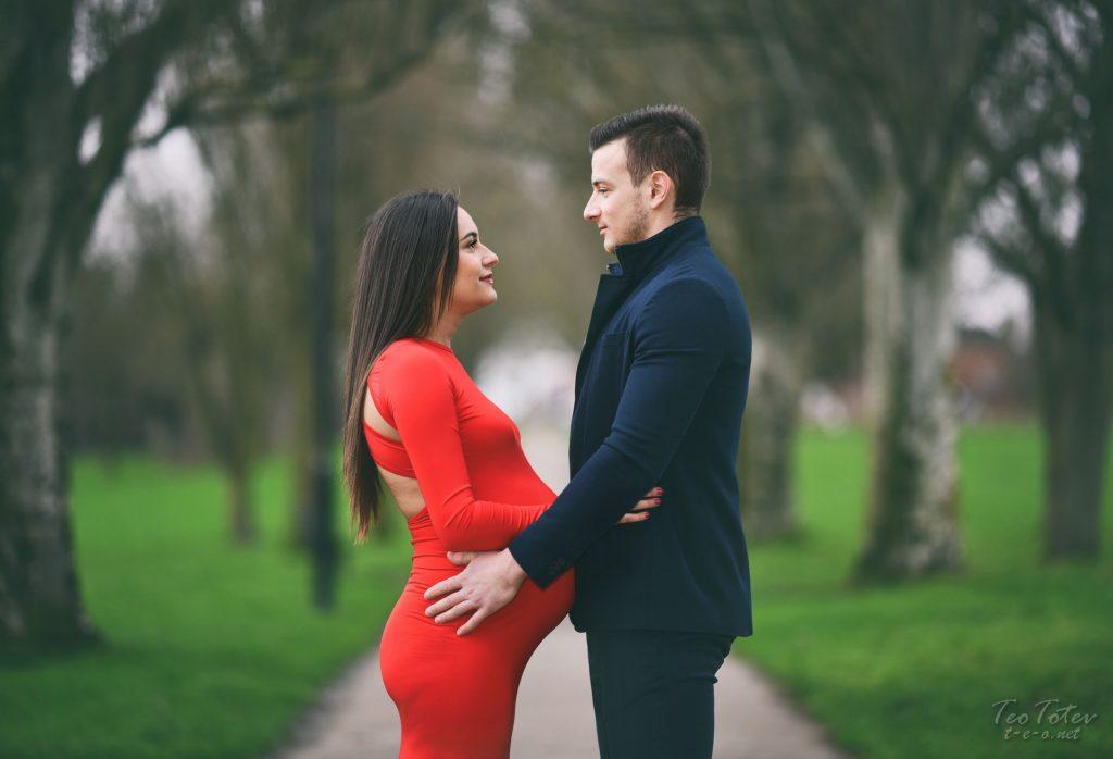 UK Couple maternity photography