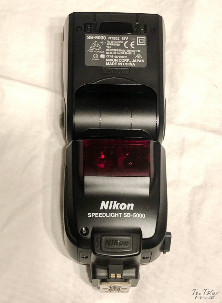 Nikon SB-5000 on Operations Table
