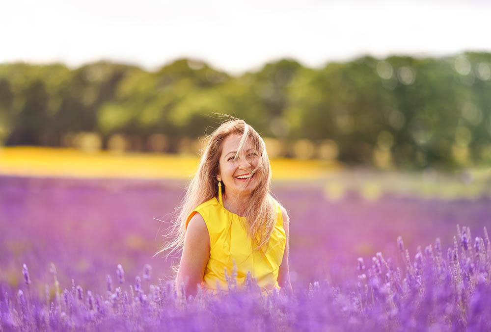 Lavender Fields Photo Session