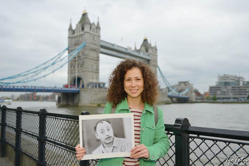 Tower Bridge Portrait